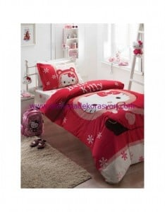karaca-home-hello-kitty-red-genc-complete-130 TL