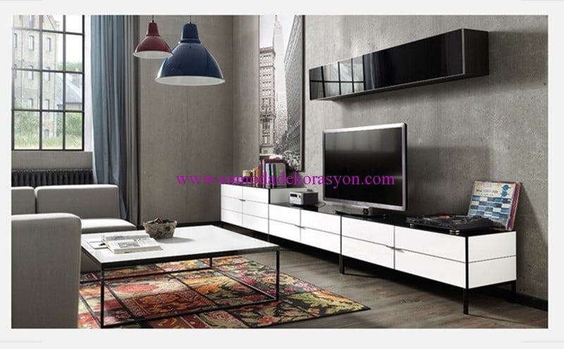 Enza Home Crystal TV Ünitesi