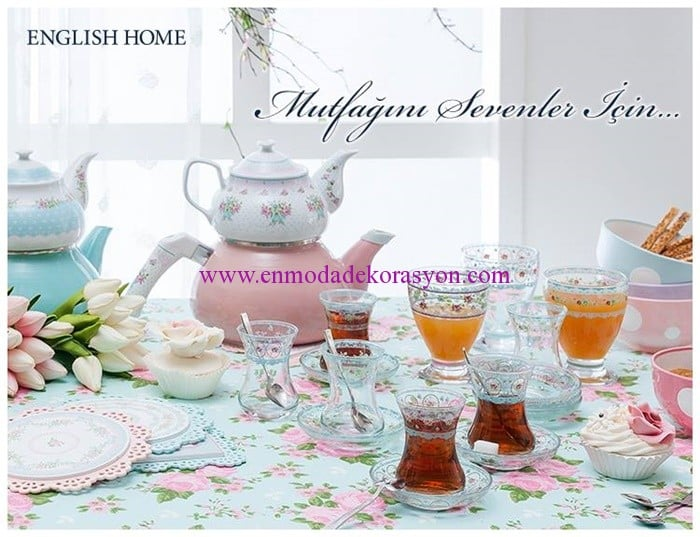 English Home çay-fincan setleri