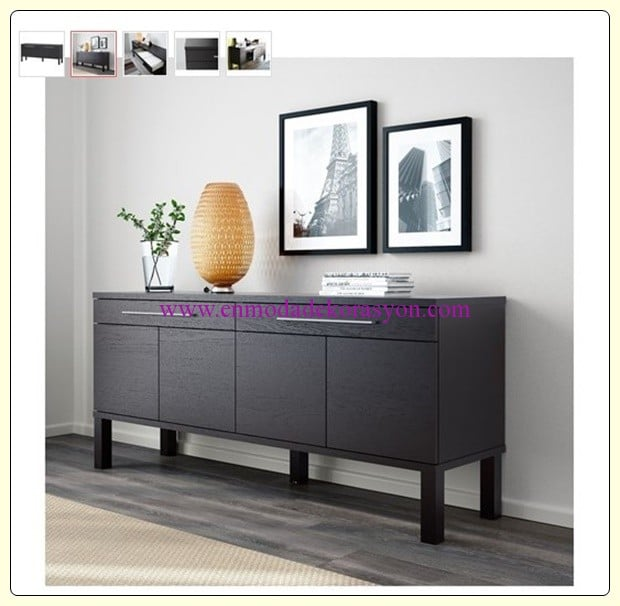 ikea konsol modelleri en moda dekorasyon. Black Bedroom Furniture Sets. Home Design Ideas